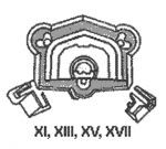 Půdorys fortů 11,13,15,17