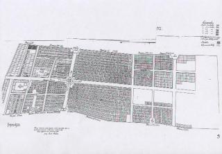 Plán vojenského hřbitova