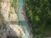 Řeka Tara - pohled z mostu